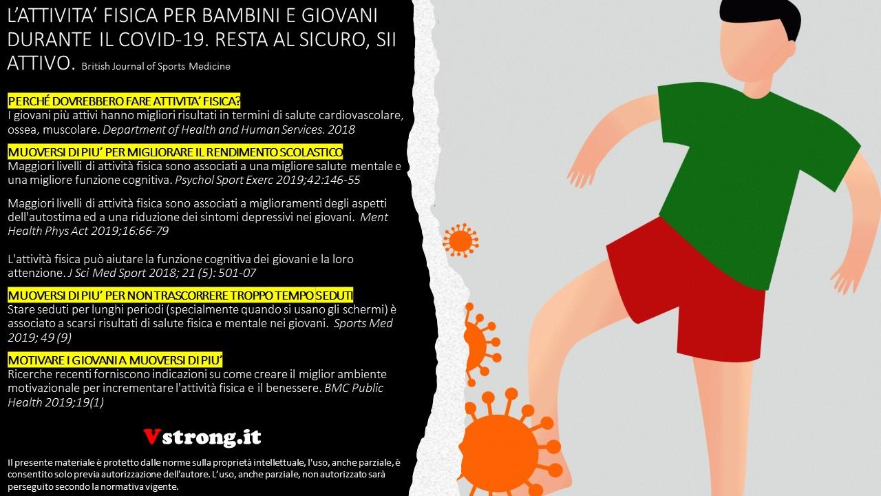 Attivita Fisica Per Bambini E Giovani Durante Il Covid 19 Valerio Esposito